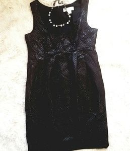 Michael Kors black, sparkly dress